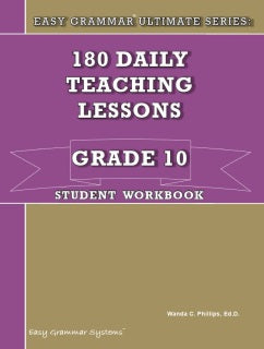 Easy Grammar Ultimate Series: Grade 10 Student Workbook