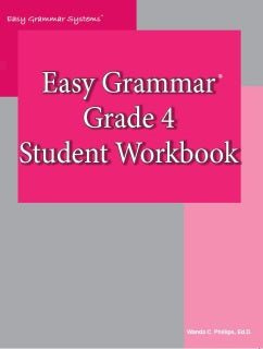 Easy Grammar: Grade 4 Student Workbook