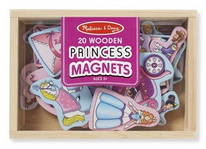 Magnetic Wooden Princess Play