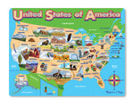 USA Map Jigsaw Puzzle