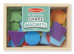 Magnetic Wooden Shapes & Colors