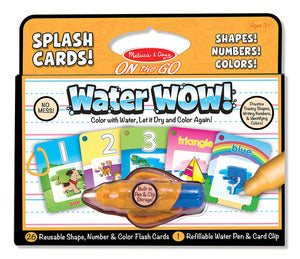 Water Wow - Splash Cards Shapes, Numbers & Colors