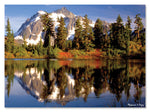 Mountain Reflection Cardboard Puzzle (300 pc)