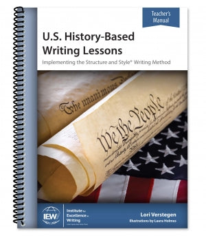U.S. History-Based Writing Lessons [Teacher's Manual only]