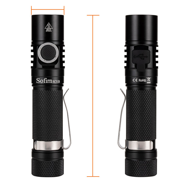 Sofirn SC31B Rechargeable Flashlight