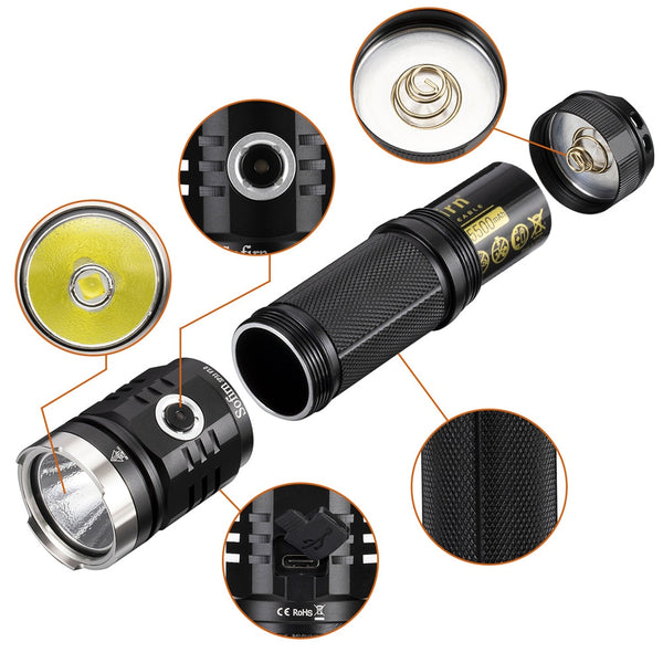 Sofirn SP33 V3.0 LED Flashlight