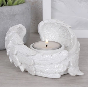 Angel Wing Candle Holder