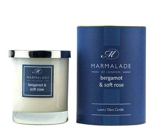 Bergamot & Soft Rose Candle Jar