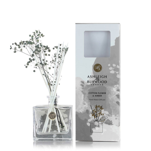 Cotton Flower & Amber Reed Diffuser