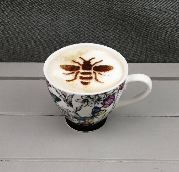 Bee Kind Coffee Stencil