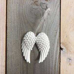 Double Angel Wing Decoration