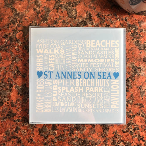 St Annes on Sea Ceramic Coaster