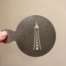 Load image into Gallery viewer, Blackpool Tower Coffee Stencil