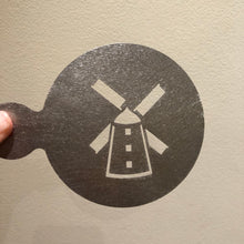 Load image into Gallery viewer, Lytham Windmill Coffee Stencil