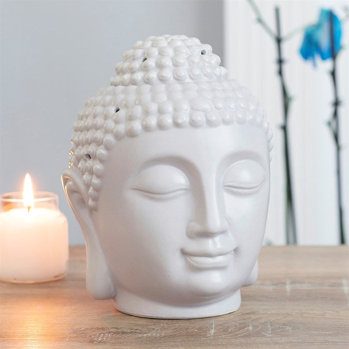 Grey Buddha Oil Burner