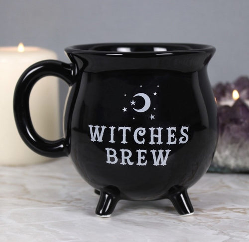 Witches Brew Cauldron Mug
