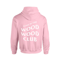 Touch The Wood Wood Club Hoodie Pink