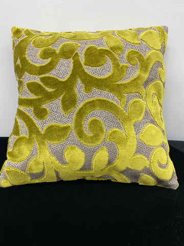 Velvet Swirl Pillow
