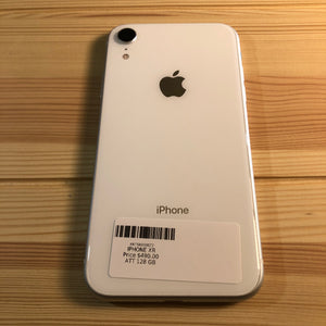 Smartphone iPhone XR blanco de 128 GB (AT&T)