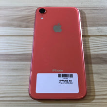 Load image into Gallery viewer, iPhone XR Coral 64 GB Smartphone (Unlocked)