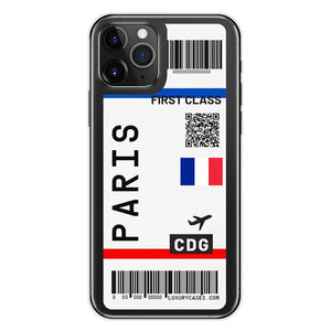 Open image in slideshow, FIRST CLASS Plane Ticket Phone Case