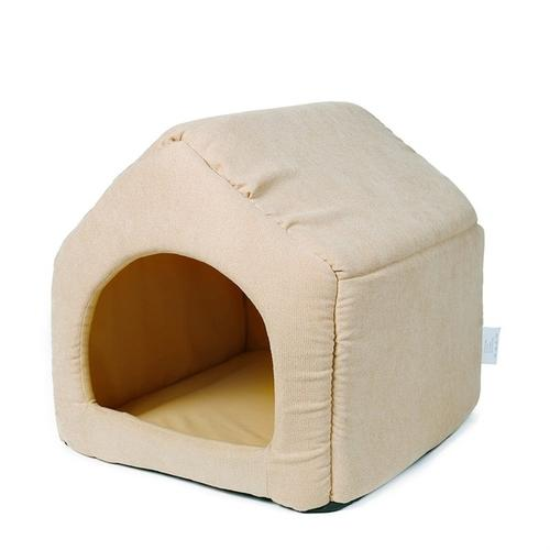 2 In 1 Pet Dog Beds House with Detach Mat Kennel - grumpycat.store