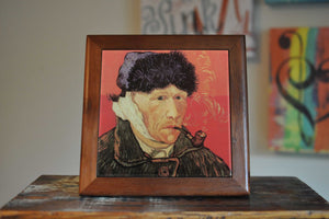 Vinsent Van Gogh Ceramic Tile Coaster Set Artwork
