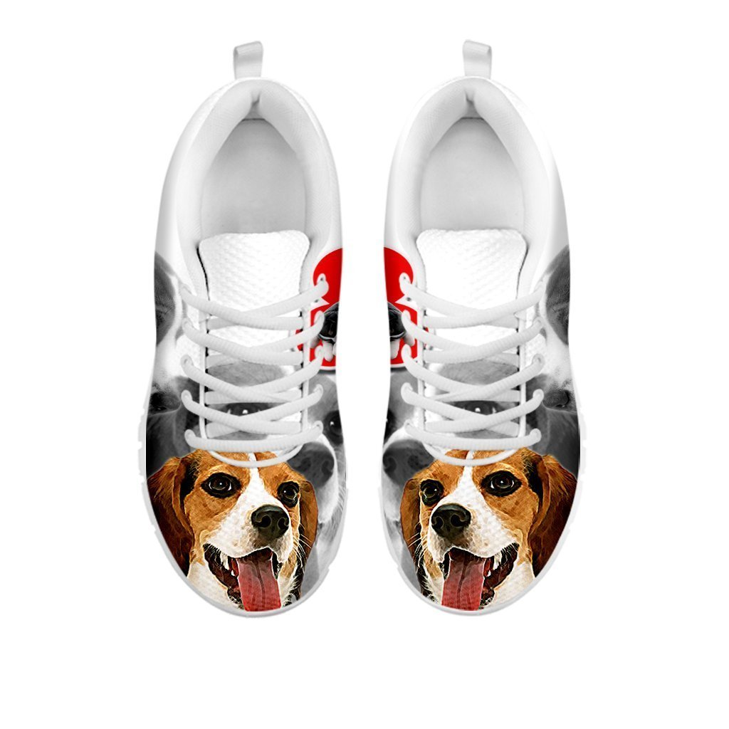 Amazing Beagle Print Running Shoes For Women For 24 Hours Only - grumpycat.store