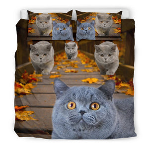 Amazing British Shorthair Cat Print Bedding Set - grumpycat.store
