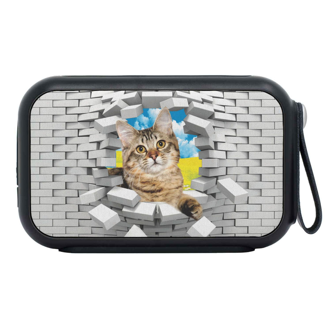 American Bobtail Cat Print Bluetooth Speaker - grumpycat.store