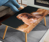Bordeaux Mastiff Print Rectangular Coffee Table - grumpycat.store