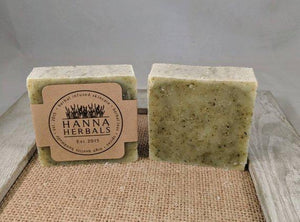 Comfrey and Nettle Facial Herbal Soap -soap - grumpycat.store