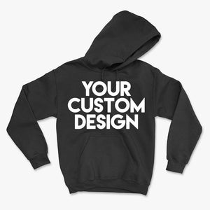 Custom Medium Hoodie (Gildan 18500 Black) - grumpycat.store