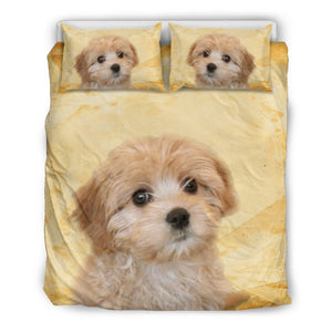 Cute Cavapoo Dog Print Bedding Set - grumpycat.store
