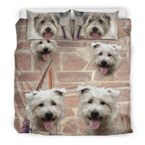 Cute Glen of Imaal Terrier Print Bedding Set - grumpycat.store