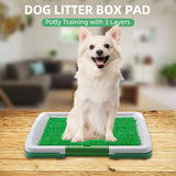 Dog Litter Potty Box Pad 3 Layer Pet Toilet Potty - grumpycat.store