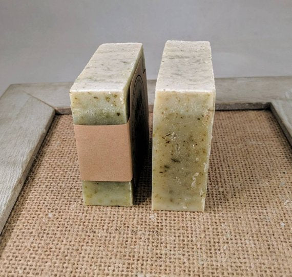 Comfrey and Nettle Facial Herbal Soap -soap -