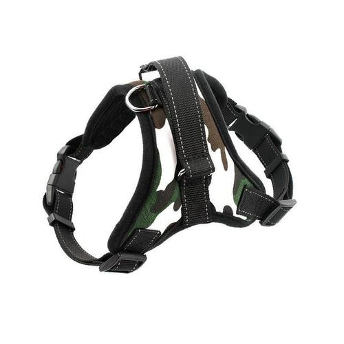 Padded Big Dog Harness - grumpycat.store