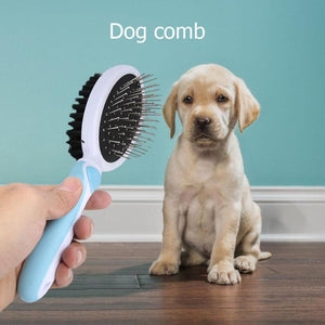 Pet Massage Comb Dogs Cats Hair Removal Brush - grumpycat.store