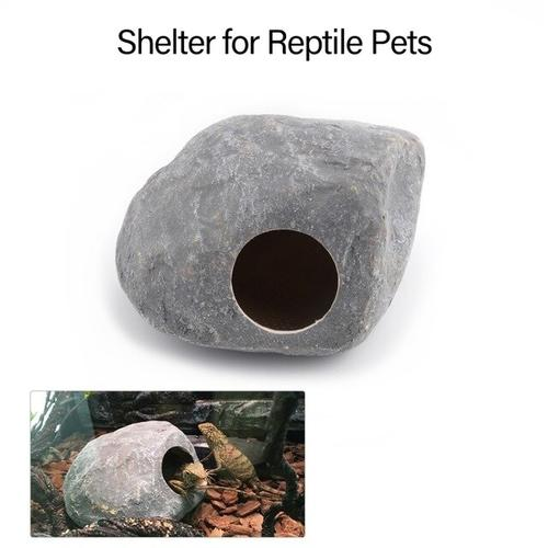 Reptile Shelter Hiding Cave Habitat for Lizards - grumpycat.store