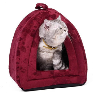 Wholesale Price Cat House and Pet Beds 5 Colors - grumpycat.store