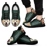'World's Best Labrador Dad' Running ShoesFather's Day Special - grumpycat.store