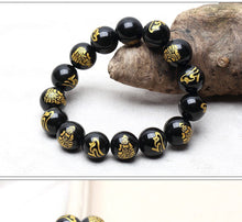 Load image into Gallery viewer, NATURAL GOLD PRINTED BRACELET