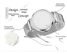 Load image into Gallery viewer, Diamond Glass Luxury SmartWatches