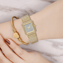 Load image into Gallery viewer, MISSFOX Female Iced Out Watches