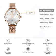 Load image into Gallery viewer, Watch NAVIFORCE Rose Gold