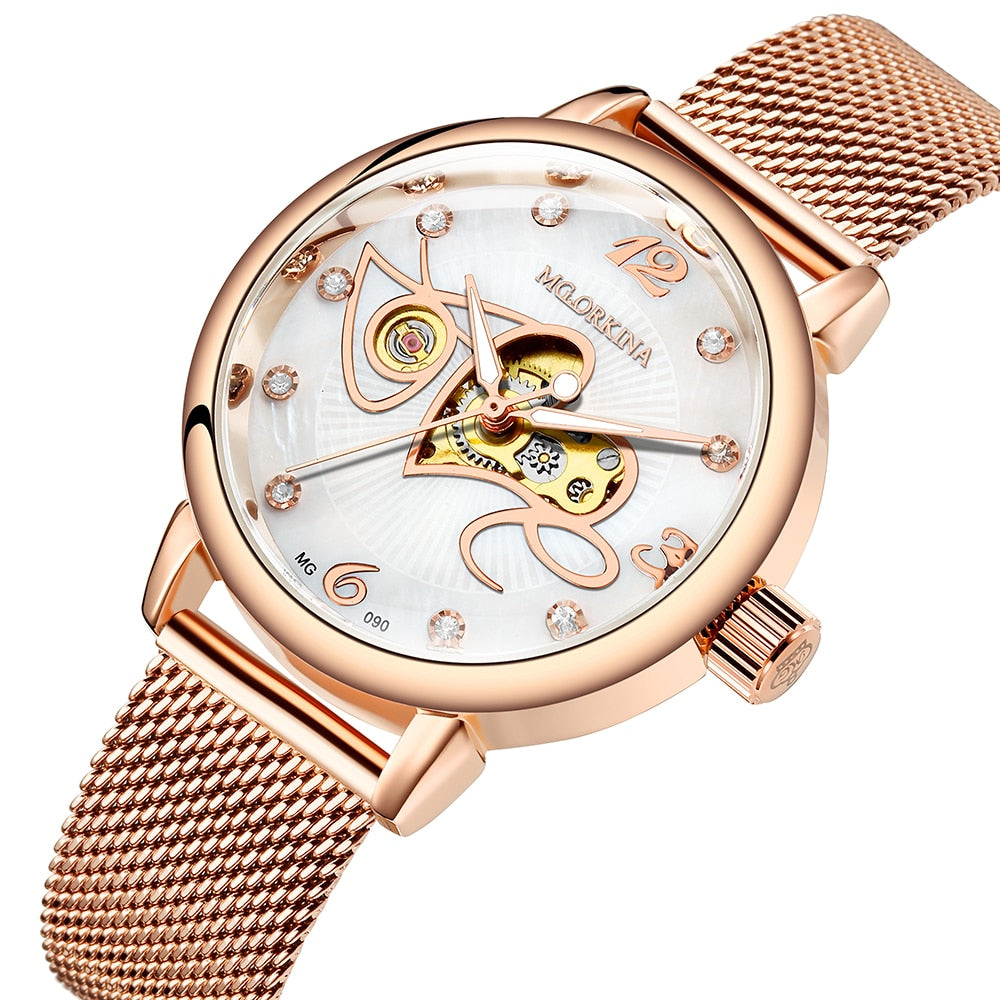 Mechanical Watch Love pattern