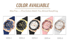 Load image into Gallery viewer, MISSFOX Watches Chronographh