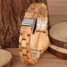 Load image into Gallery viewer, Nature Bamboo Wooden Watches