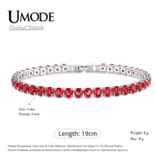 Load image into Gallery viewer, Charm Tennis Bracelets